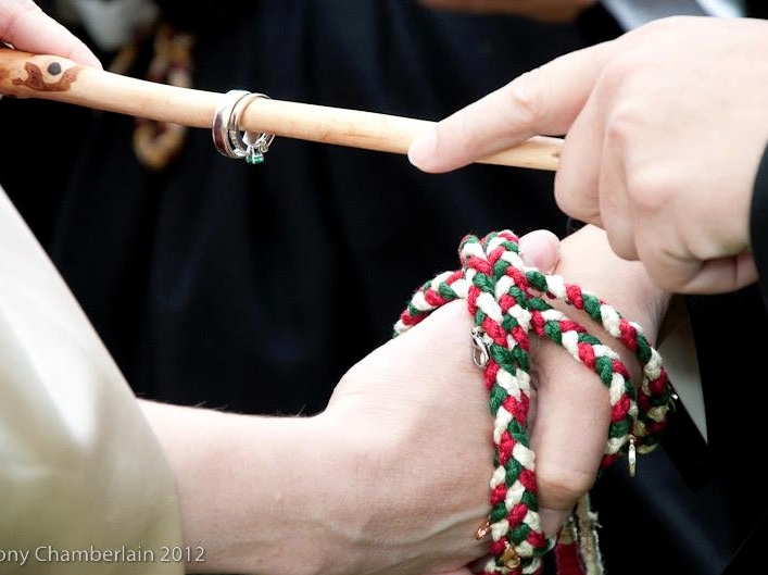 Handfasting And Pagan Wedding Ceremonies An Alternative Religious Wedding The Wedding