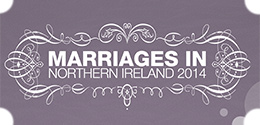 Click here to view Northern Ireland's latest available marriage statistics